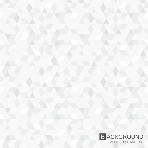 ilustrações de stock, clip art, desenhos animados e ícones de geometric pattern - seamless vector background - white background