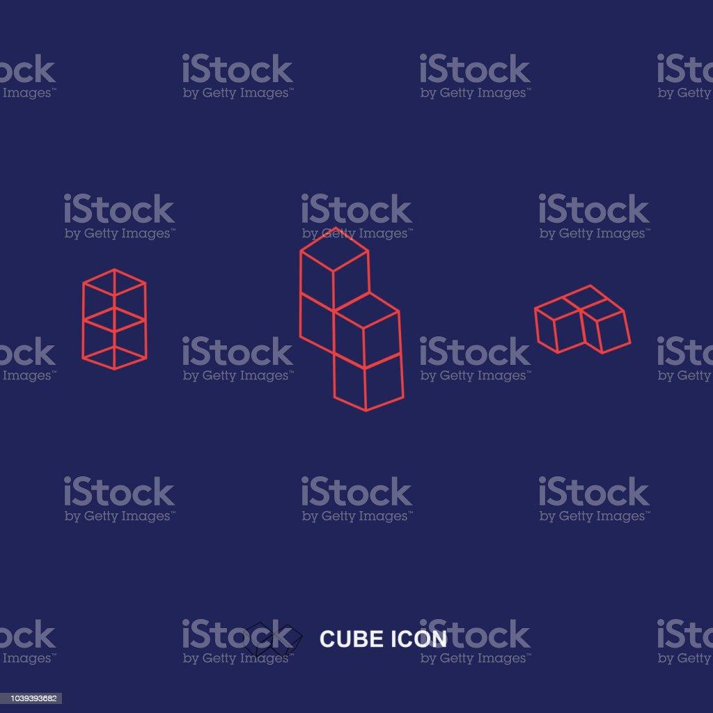 Symbole de motif géométrique - Illustration vectorielle