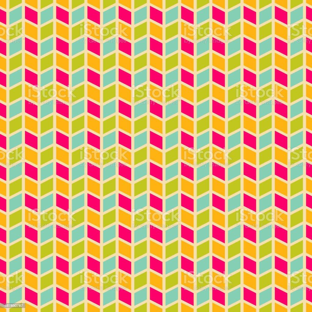 Geometric pattern (tiling). Vector seamless abstract vintage vector art illustration
