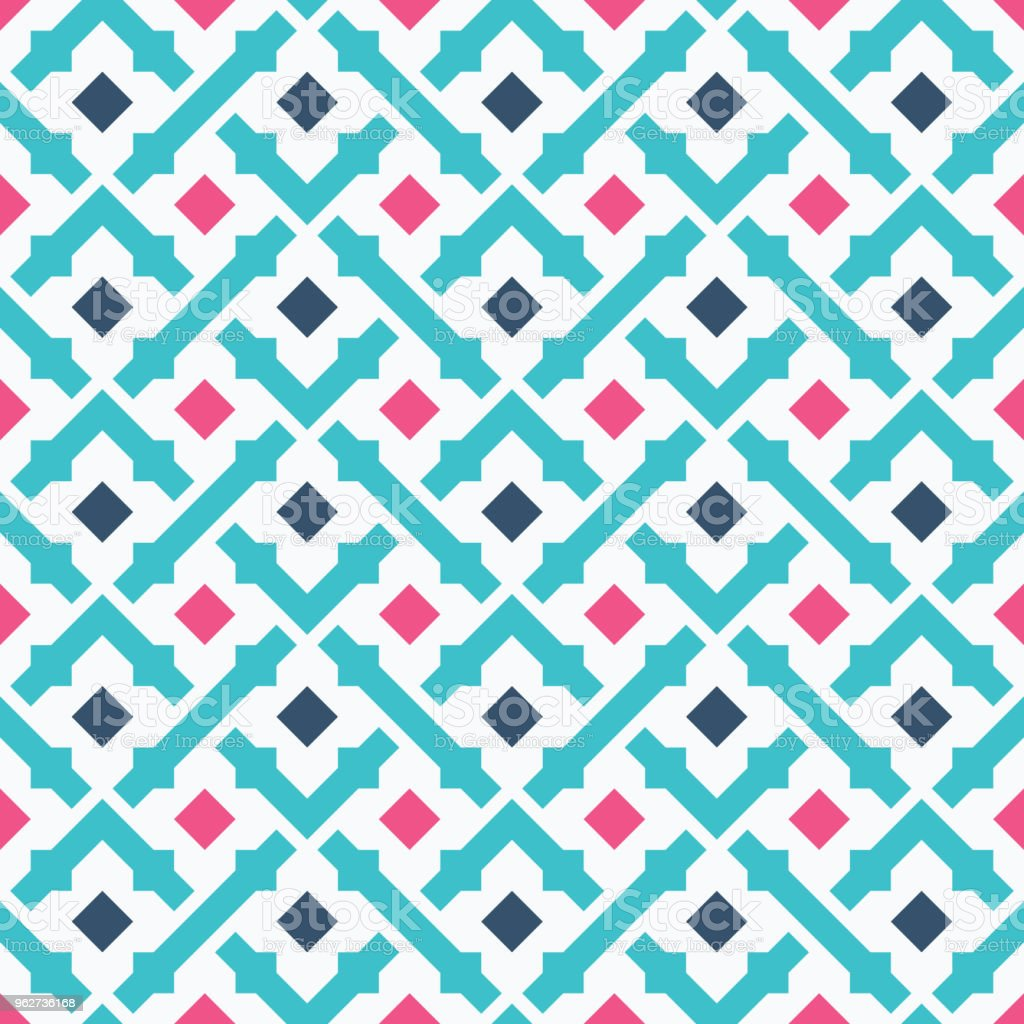Vetor de padrão geométrico - Vetor de Abstrato royalty-free