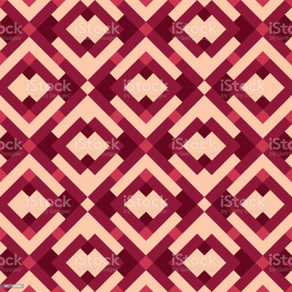 Geometric Pattern Vector - arte vettoriale royalty-free di Abbigliamento