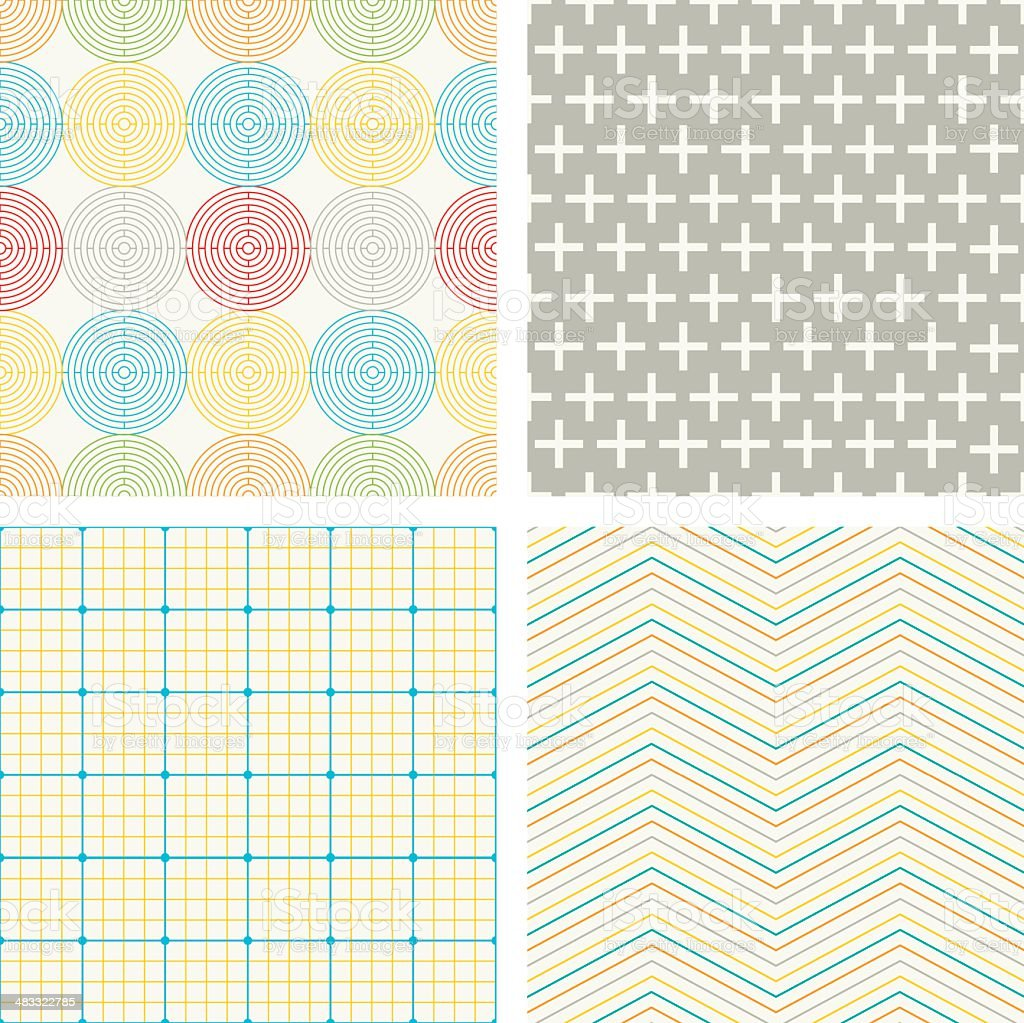 Geometric Patterns royalty-free geometric patterns stock vector art & more images of backgrounds
