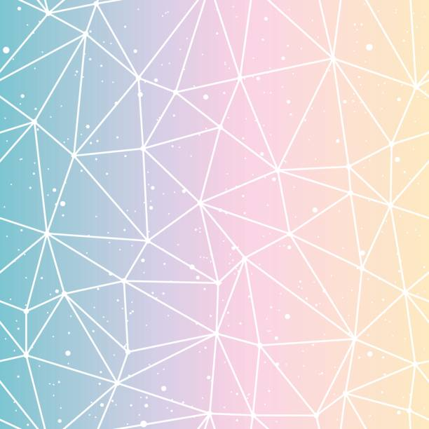 Bекторная иллюстрация Geometric polygonal gradient background vector