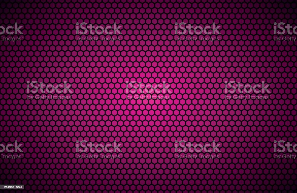 Geometric Polygons Background Abstract Pink Metallic Wallpaper Vector Illustration Royalty Free