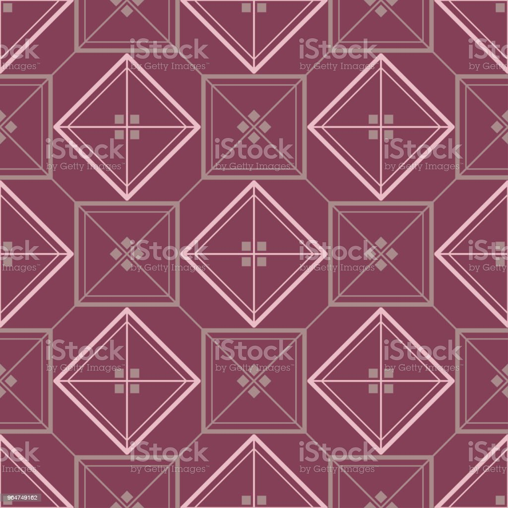 Geometric purple red seamless pattern royalty-free geometric purple red seamless pattern stock vector art & more images of abstract