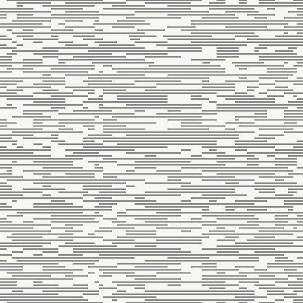 Geometric seamless discrete pattern. Background. Dashed strokes. Fine ripple structure. Geometric abstract seamless discrete pattern. Wrapping paper. Scrapbook paper. Tiling. Vector illustration. Background. Graphic dashed strokes texture. Fine ripple structure. Seamless pattern. hyphen stock illustrations