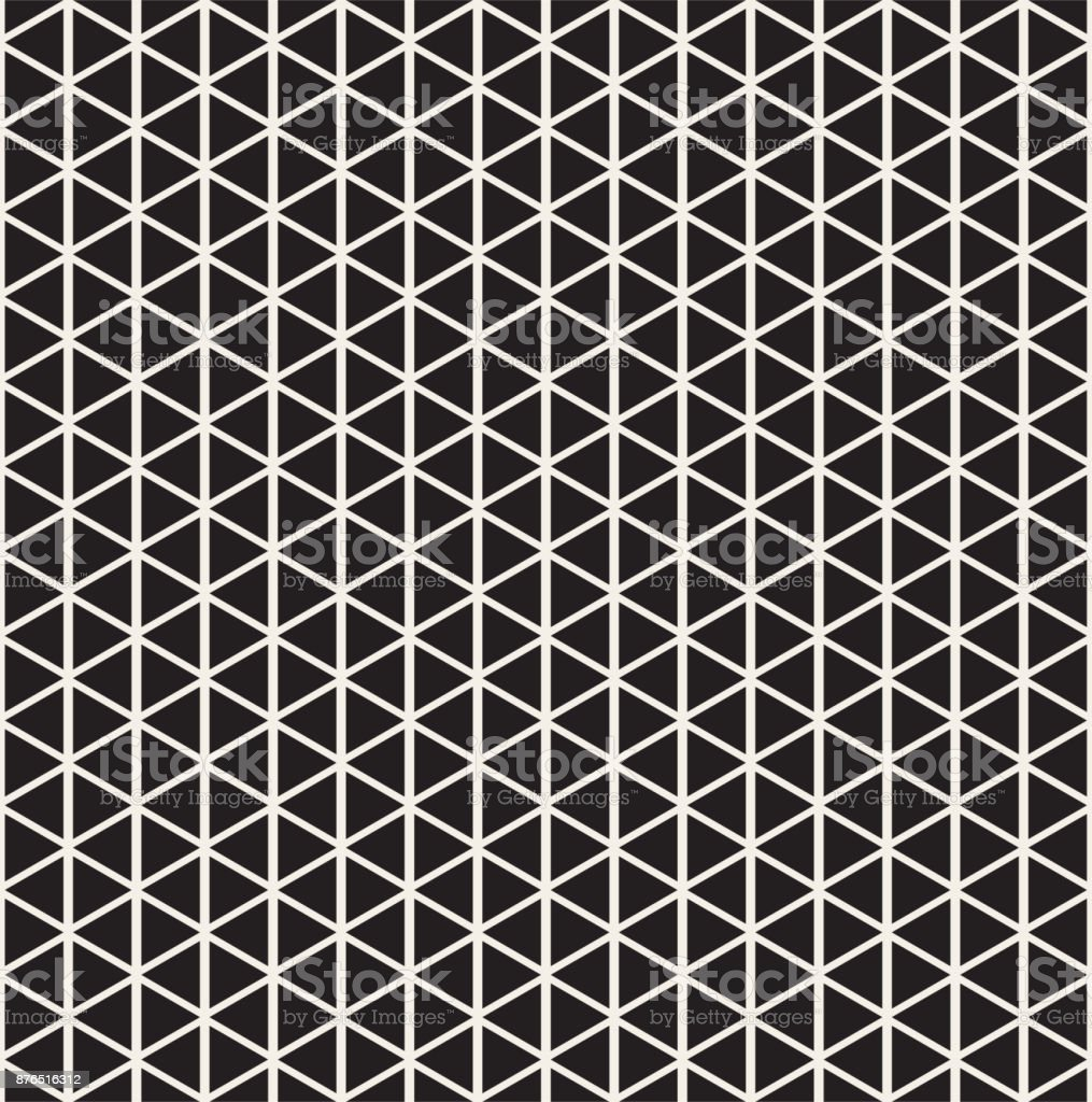 Geometric seamless pattern. Abstract background with triangles vector art illustration
