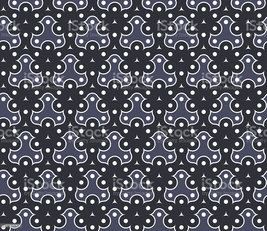 Geometric seamless pattern background vector art illustration