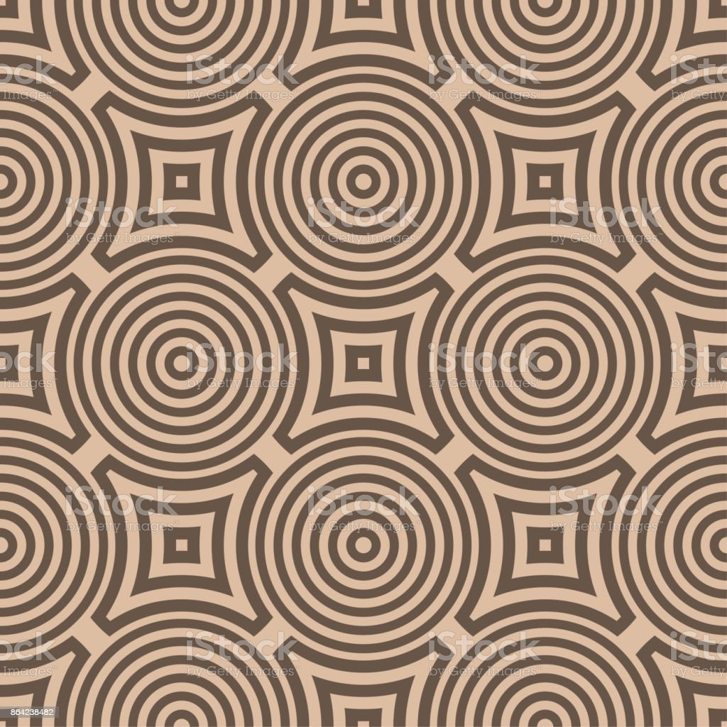 Geometric seamless pattern. Brown ornamental design royalty-free geometric seamless pattern brown ornamental design stock vector art & more images of abstract