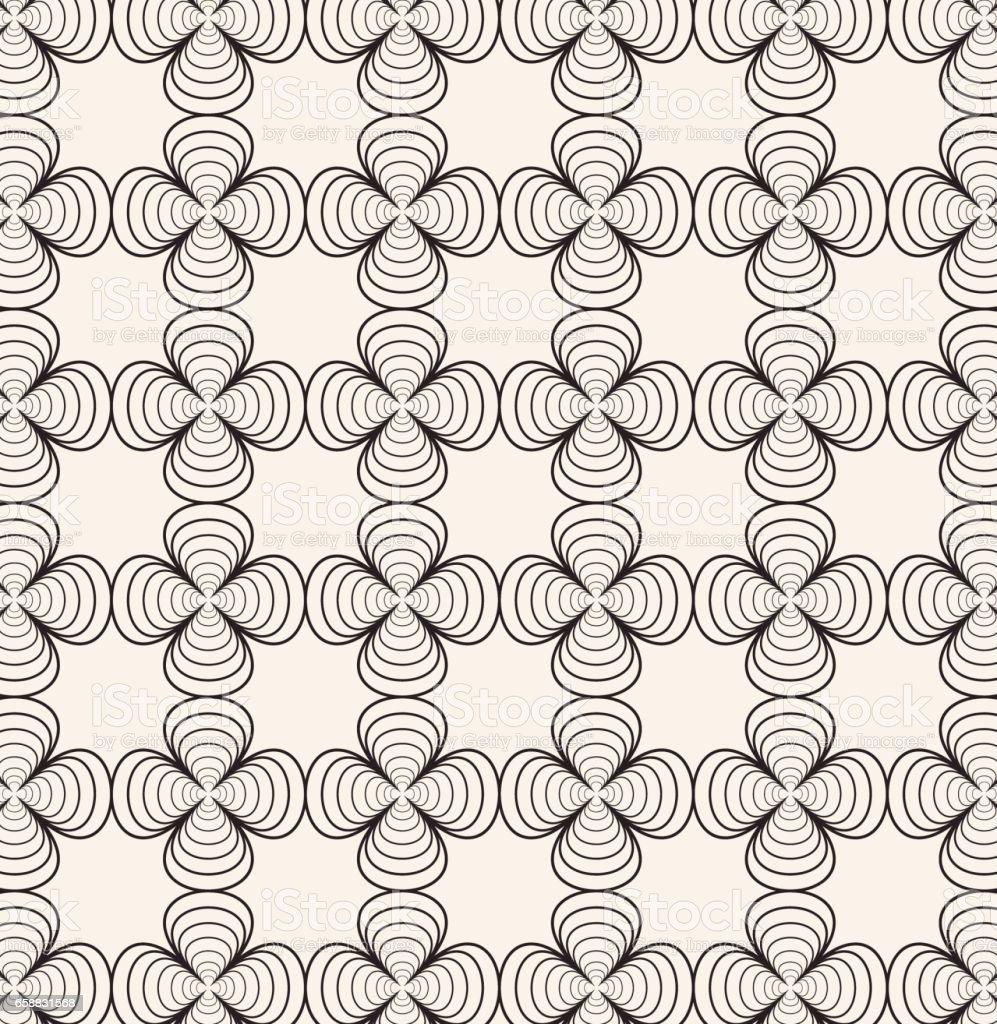 Ilustración de Diseño De Patrón Geométrico Sin Costura De Forma ...