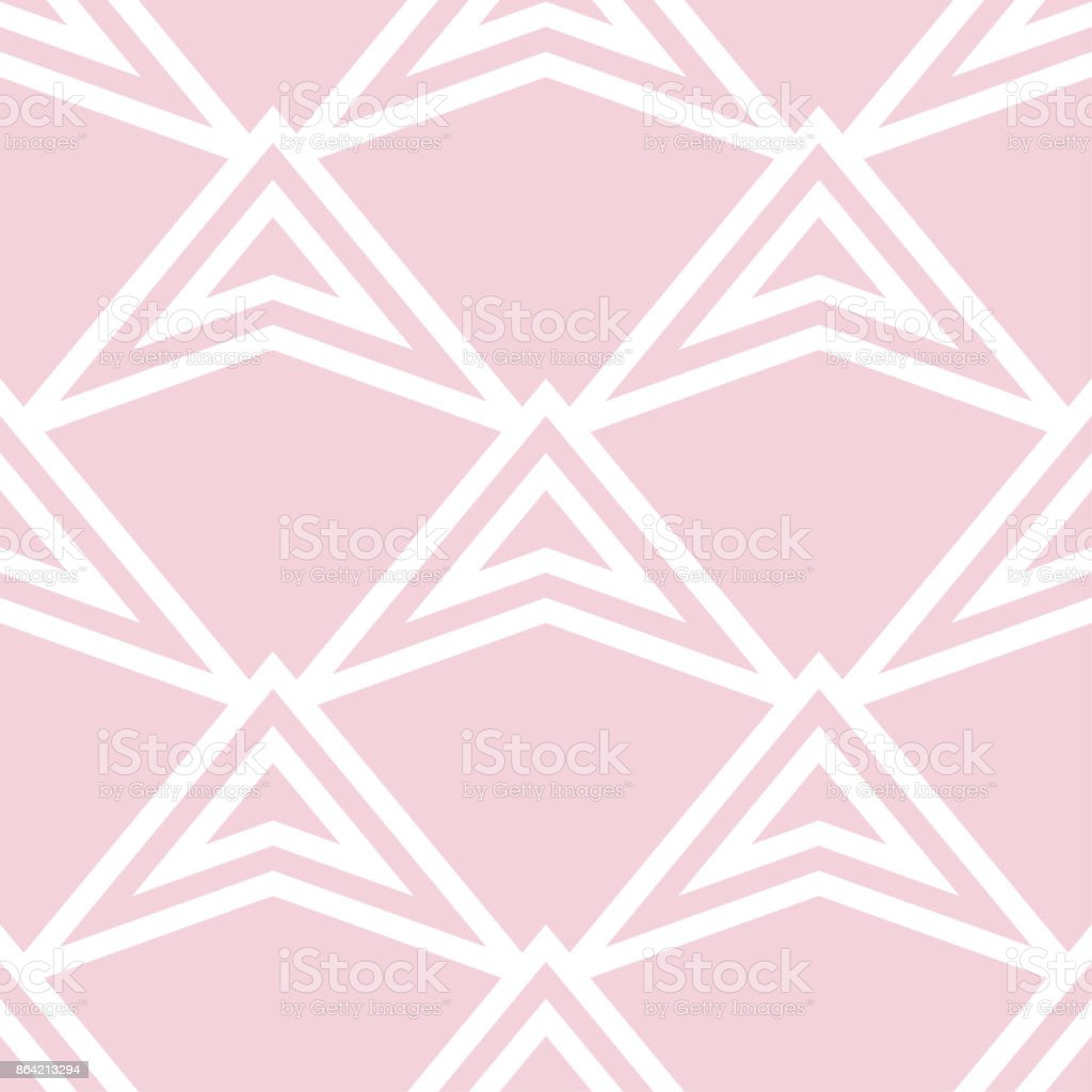 Geometric seamless pattern. Pale pink ornamental design royalty-free geometric seamless pattern pale pink ornamental design stock vector art & more images of abstract