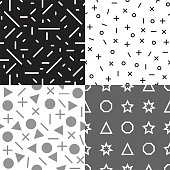 geometrics  , seamless pattern, use for wallpapers background, or backdroping,