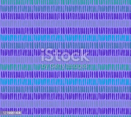istock Geometric seamless pattern 1219681406