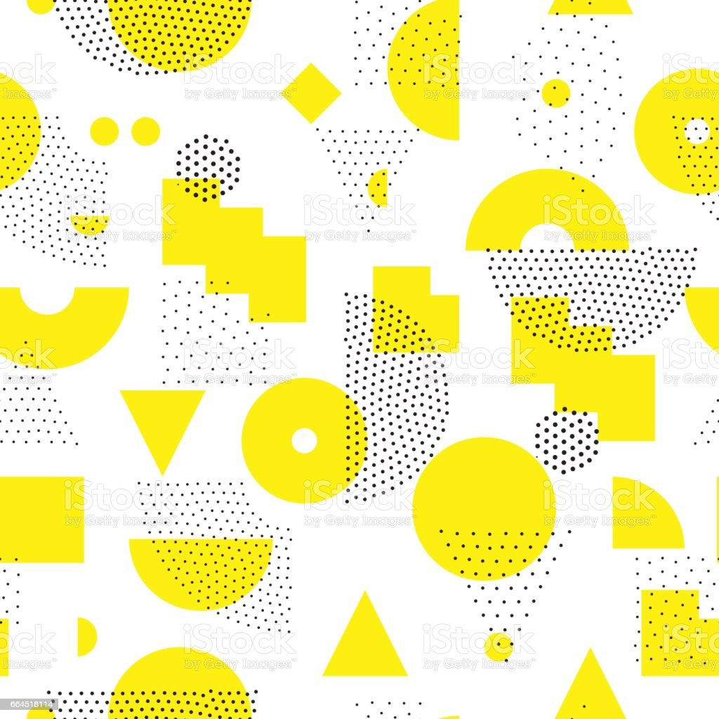 Geometric Seamless Pattern vector art illustration