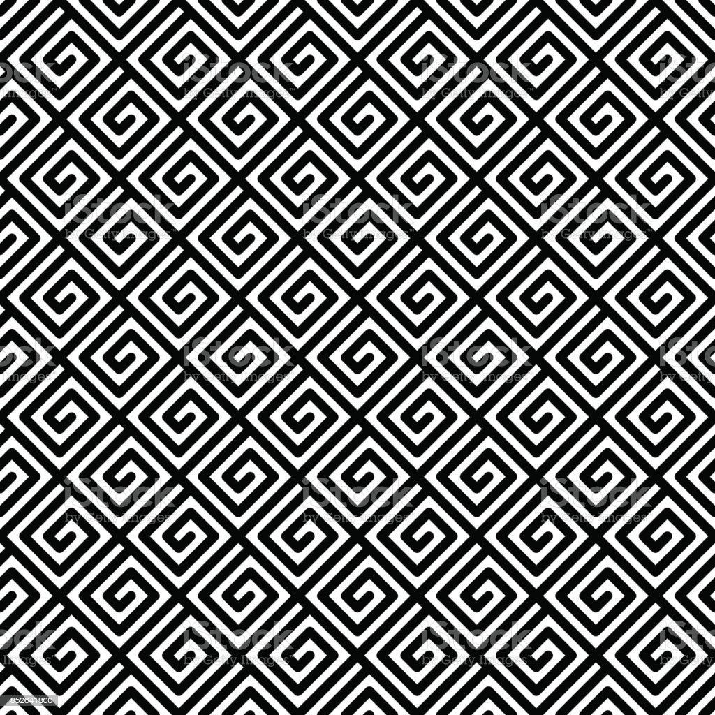 Geometric seamless pattern. vector art illustration