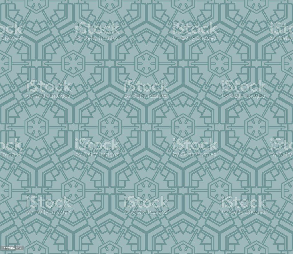 Geometric Seamless Pattern Vector Illustration For Modern Interior ...