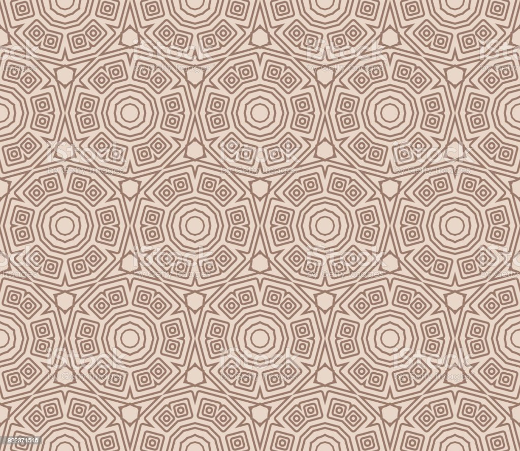 Geometric Seamless Pattern Vector Illustration For Modern Interior Design Fashion Textile Print