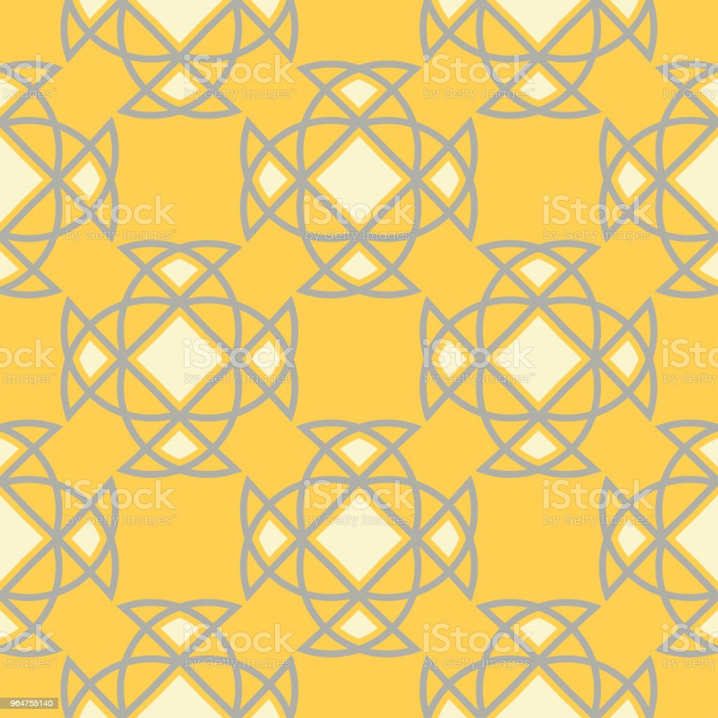 Geometric seamless pattern. Yellow background royalty-free geometric seamless pattern yellow background stock vector art & more images of abstract
