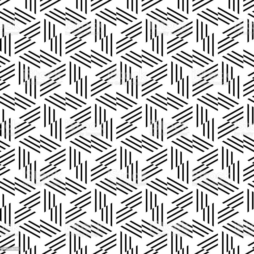 Geometric seamless vector pattern. geometric seamless vector pattern - stockowe grafiki wektorowe i więcej obrazów abstrakcja royalty-free