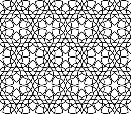 Geometrische Naadloze Vector Patroon Stockvectorkunst en meer beelden van Abstract