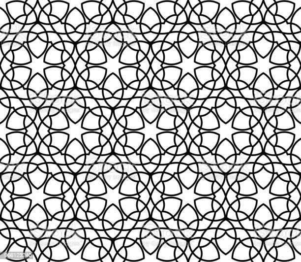 Geometriska Sömlös Vektor Mönster-vektorgrafik och fler bilder på Abstrakt