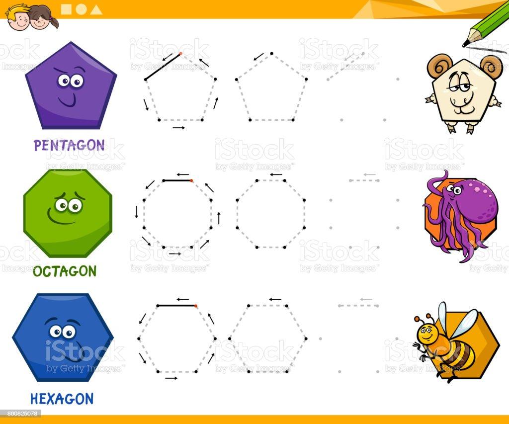 Ilustración de Formas Geométricas Dibujo De Hoja De Cálculo y más ...