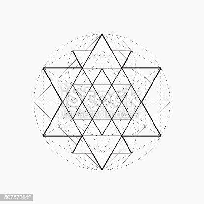Geometric Shapes Line ...