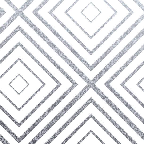 geometrische silber musterdesign mit glitzer textur der abstrakten quadrate auf weißem hintergrund. vektor-silber glitzernden schmuck für nahtlose kachel oder modernen hintergrund stoff swatch design-vorlage - edelrost stock-grafiken, -clipart, -cartoons und -symbole