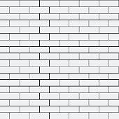 Geometric simple black and white minimalistic pattern, brick. Can be