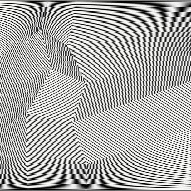 geometrische streifen. - rankgitter stock-grafiken, -clipart, -cartoons und -symbole