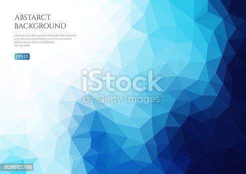 istock Geometric texture of triangles. 3-d surface. 938682768