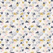 Geometric seamless pattern in vector