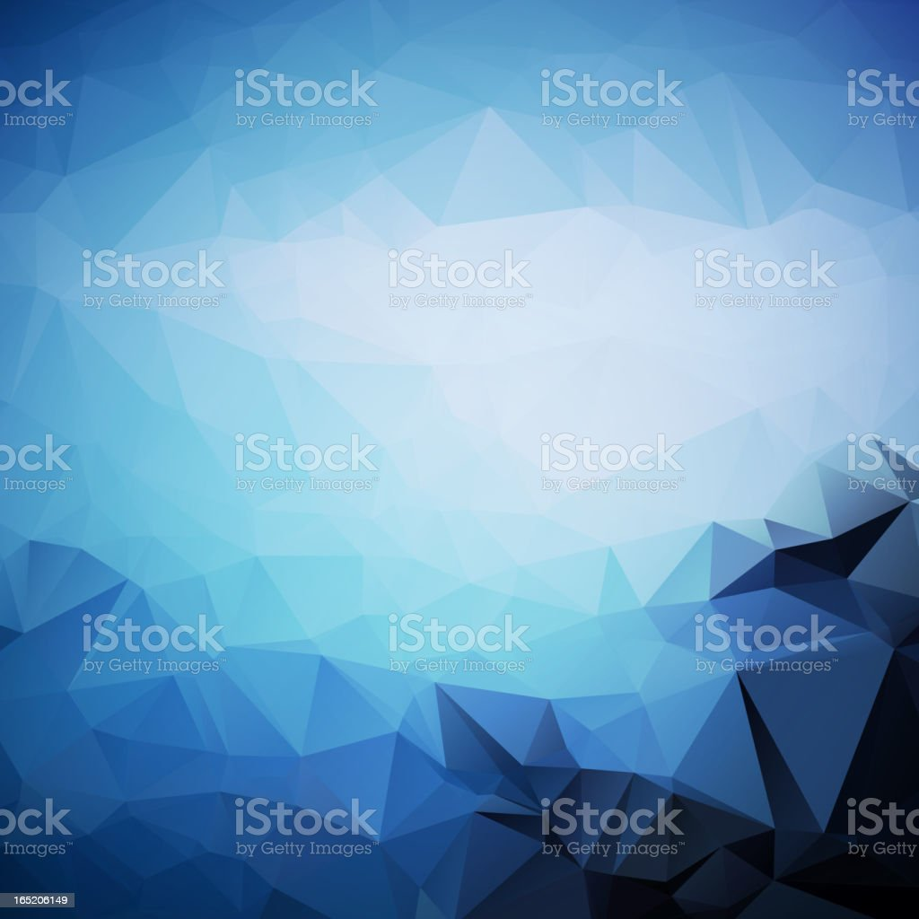 Geometric triangle shapes royalty-free stock vector art
