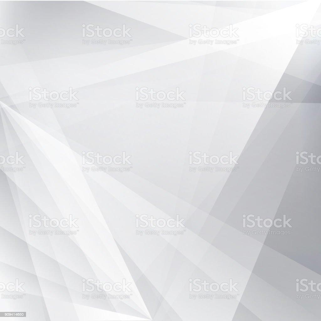 Geometrik Beyaz Ve Gri Alan Modern Tasarım ışık Ile Gümüş Arka Plan