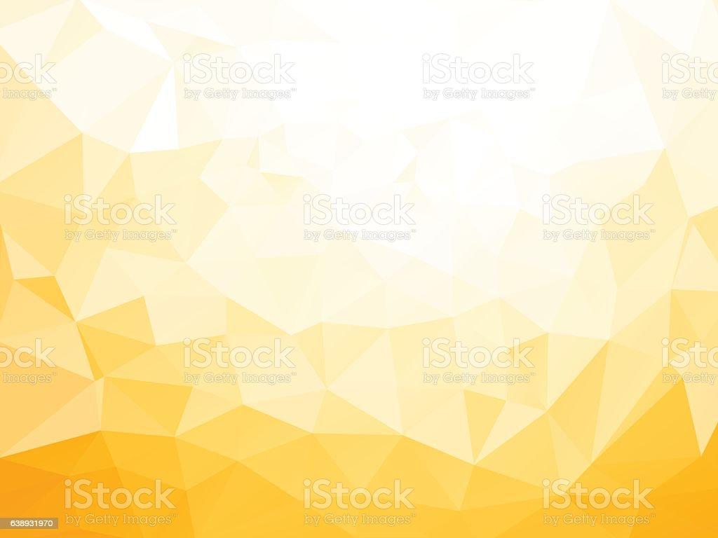 geometric yellow pattern vector art illustration
