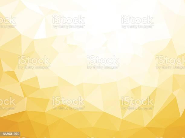 Geometric Yellow Pattern Stock Illustration - Download Image Now