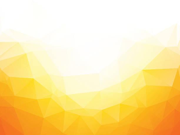 geometrische gelbe texturierter hintergrund - mosaikglas stock-grafiken, -clipart, -cartoons und -symbole