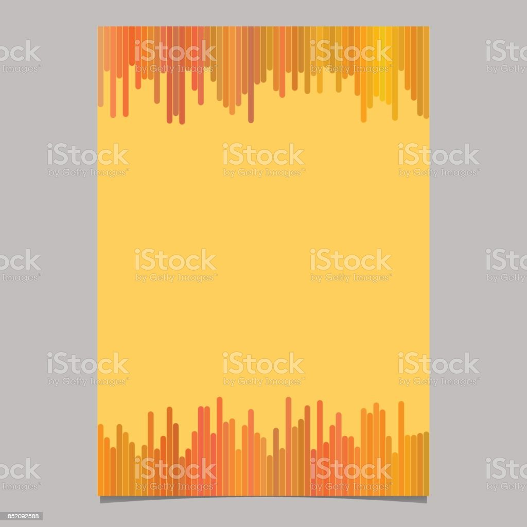 geometrical abstract page brochure template blank flyer background