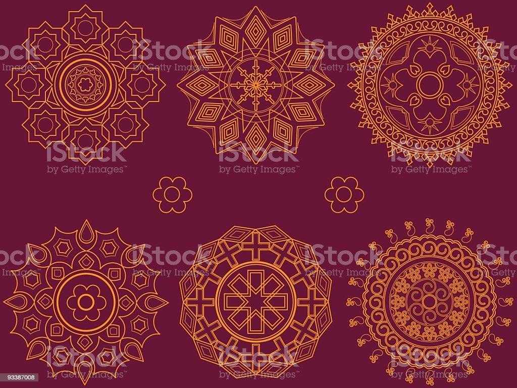 Geometrical Design vector art illustration
