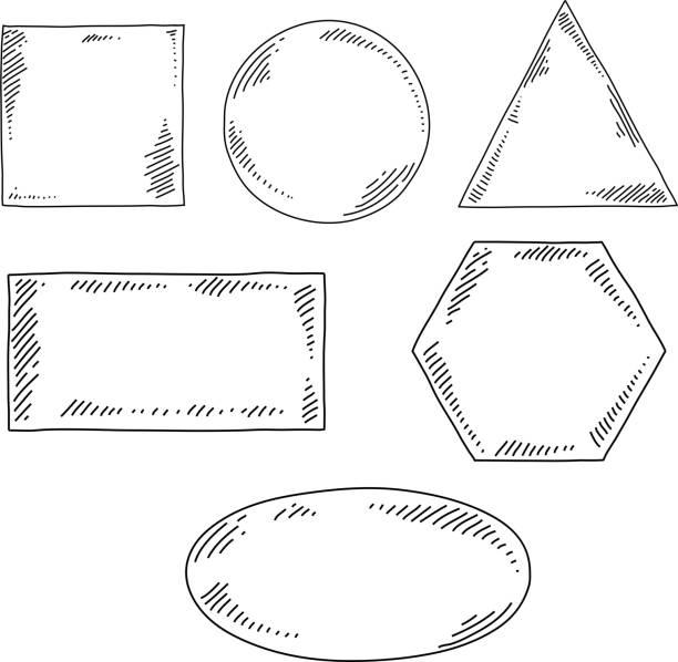 geometrical shapes drawing - 不完整 幅插畫檔、美工圖案、卡通及圖標