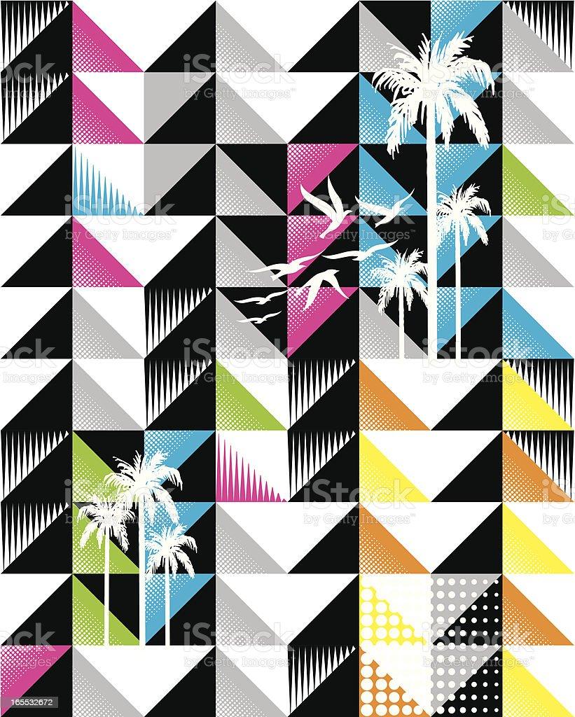 geometrix composition royalty-free stock vector art