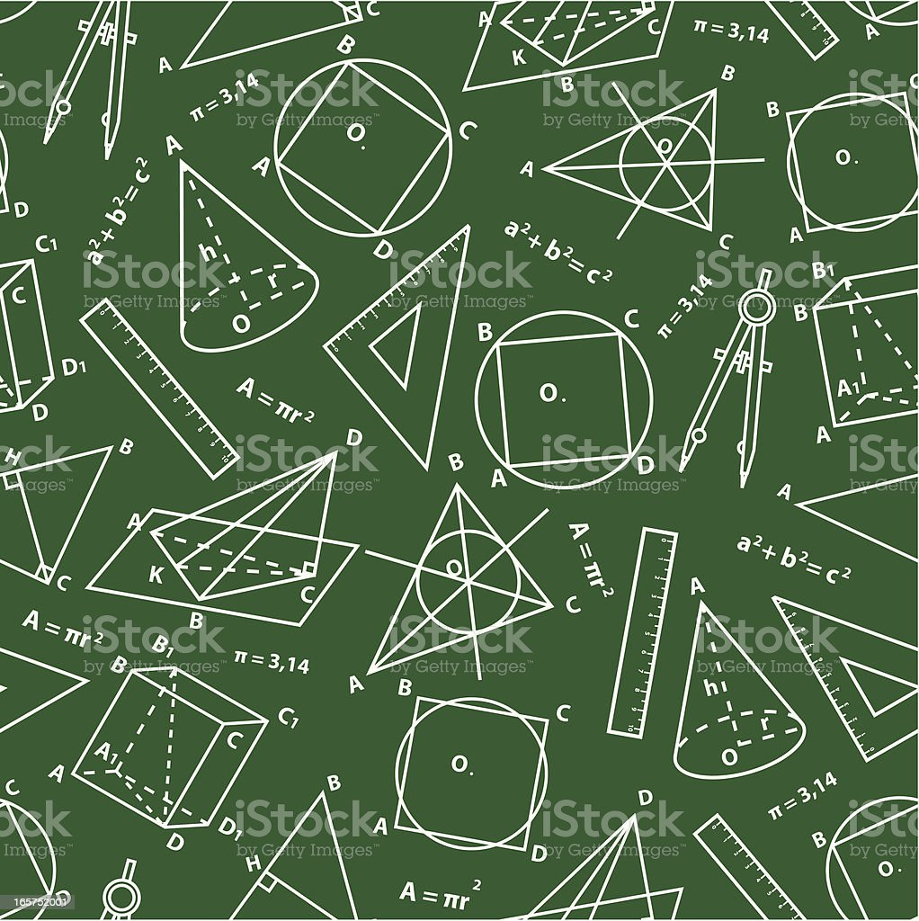 Geometry background. royalty-free stock vector art