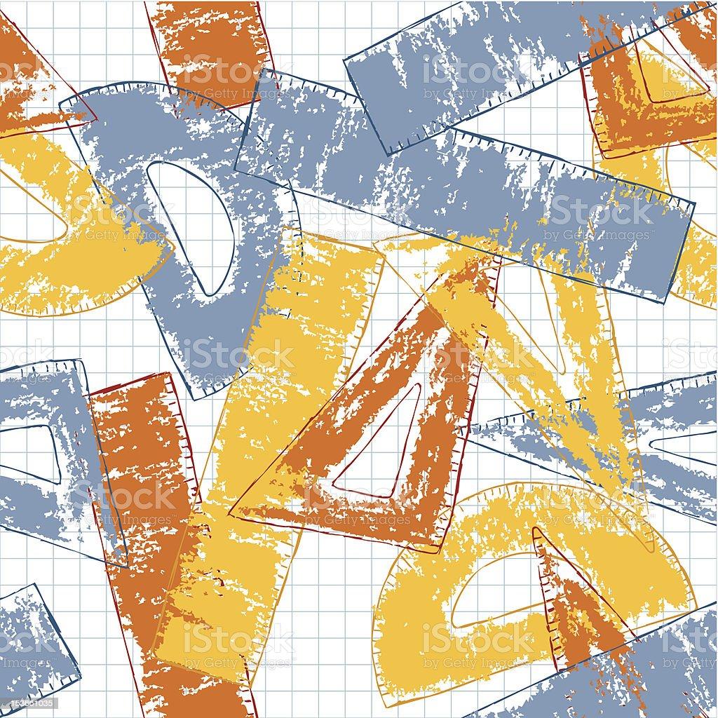 Geometry Doodles royalty-free stock vector art