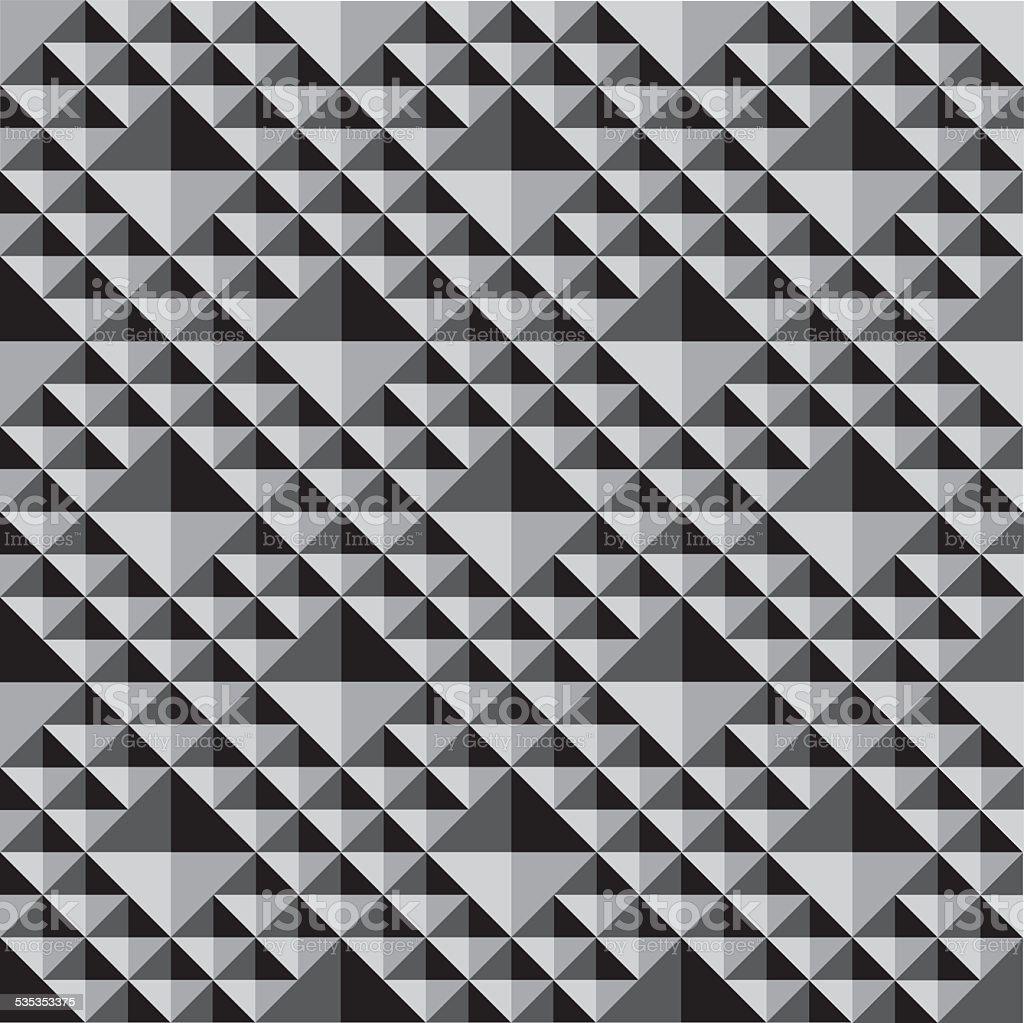Géométrie Texture Mono l'EPS 10 - clipart vectoriel de Abstrait libre de droits
