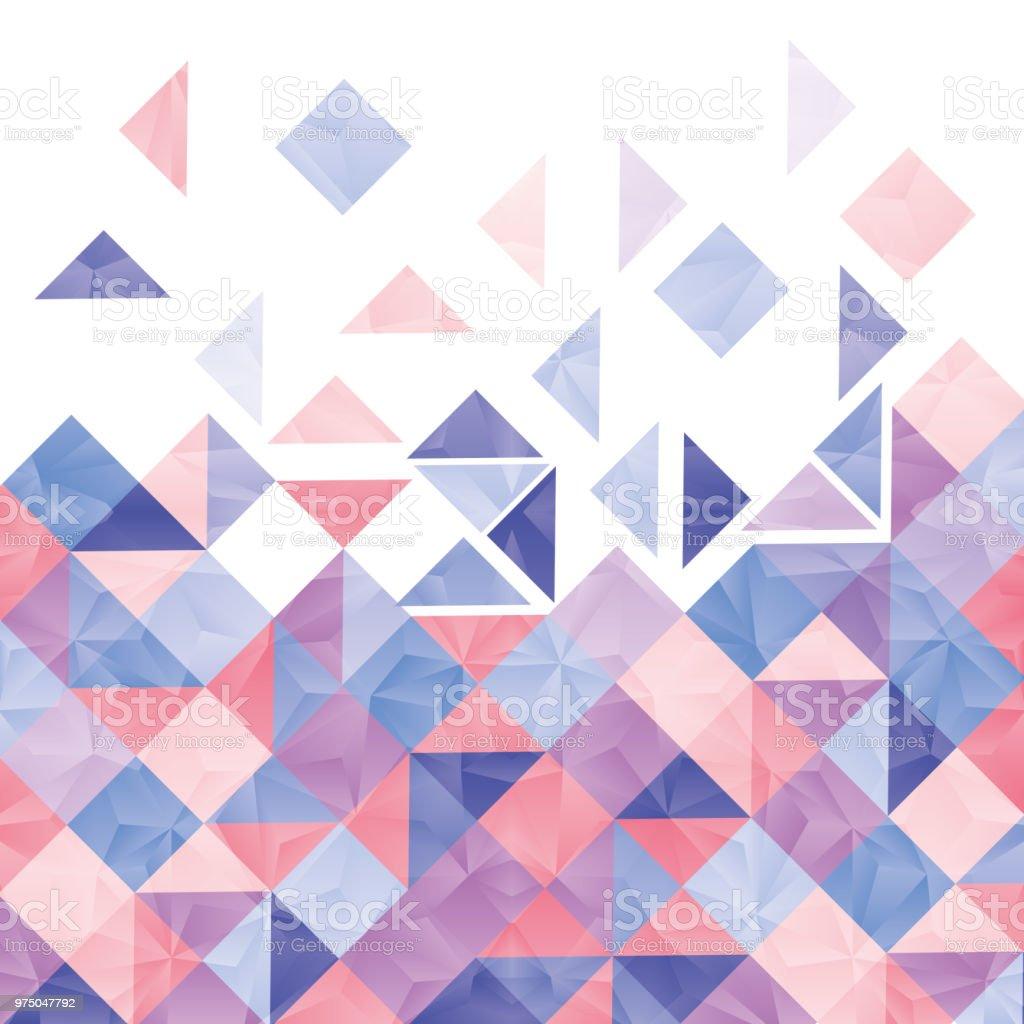 幾何学模様の壁紙と背景 イラストレーションのベクターアート素材や