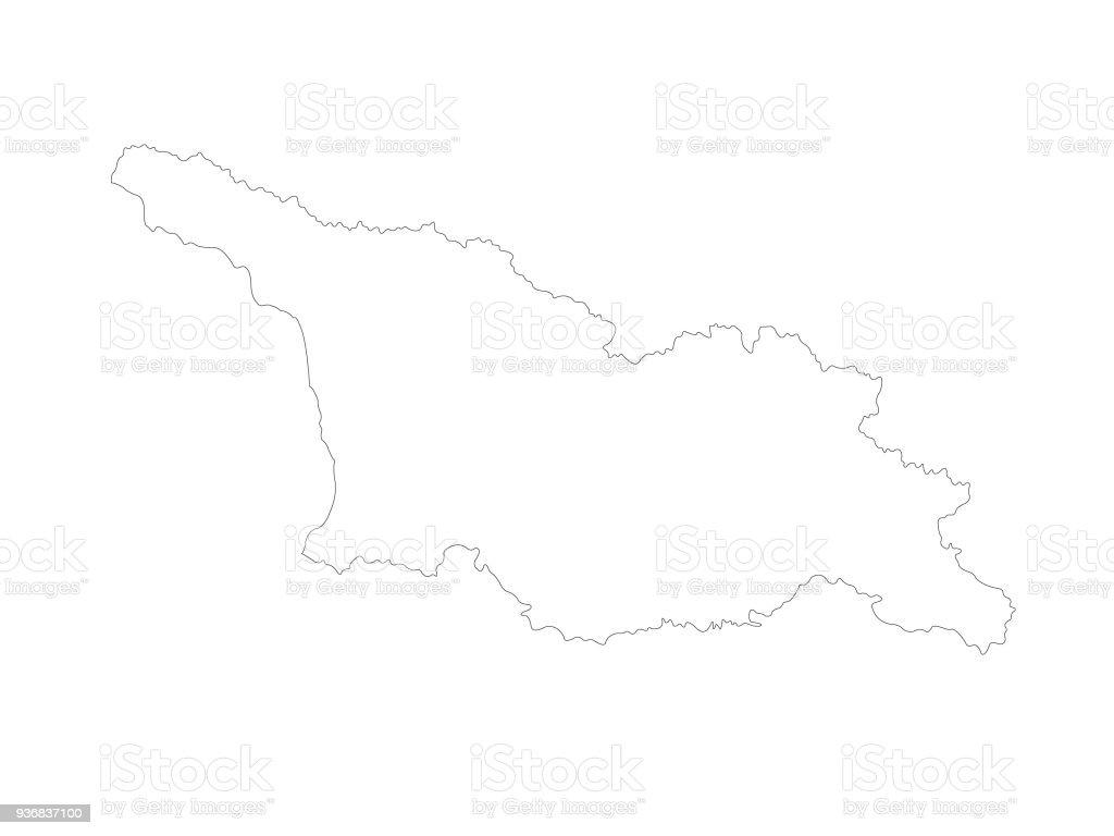 Georgia Country Map Stock Illustration - Download Image Now on georgia russia map, georgia usa, republic of georgia map, georgia topographic map, georgia ukraine map, azerbaijan map, georgia's map, eastern europe map, georgia brewery map, georgia county map, nation of georgia map, georgia europe, georgia regions map, world map, armenia map, georgia political map, chechnya map, georgia state map, georgia the country, georgia country people,