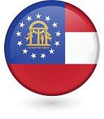 Georgia flag button