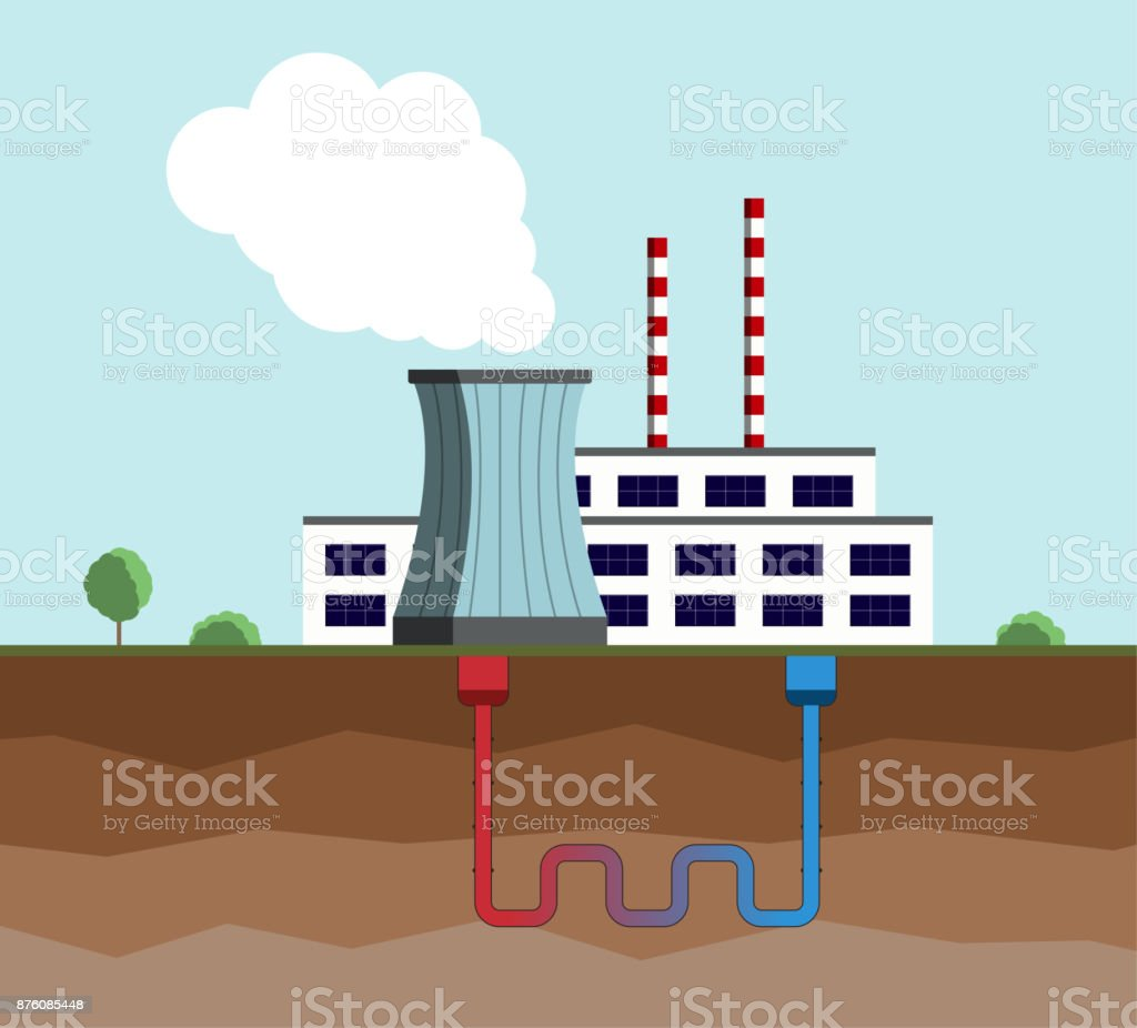 Geothermal energy concept eco friendly geothermal energy geothermal energy concept eco friendly geothermal energy generation power plant royalty free geothermal pooptronica