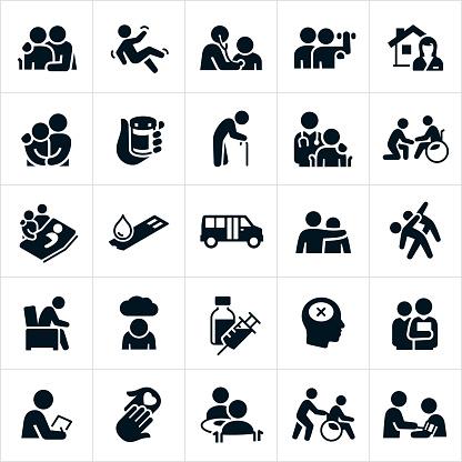 Geriatrics Icons