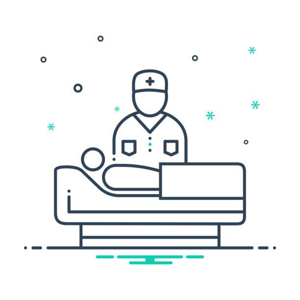 ilustraciones, imágenes clip art, dibujos animados e iconos de stock de geriatría - geriatría